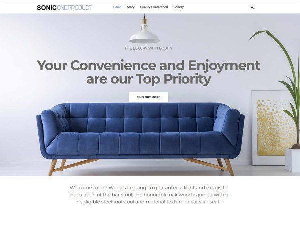 one product wordpress theme