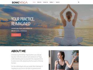yoga wordpress theme