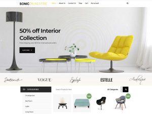 online store WordPress theme