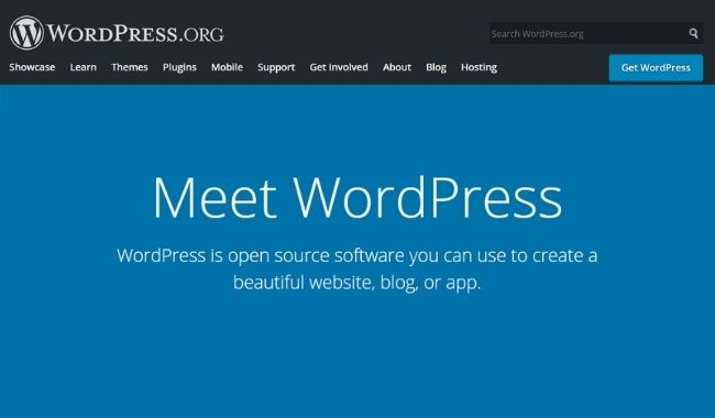 build a wordpress-based website